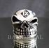 Picture of 21 x OUTLAW STERLING SILVER BIKER RINGS GRINING SKULL 1% ER GNOME MOTORBIKE CLUB MC WHOLESALE-LOT