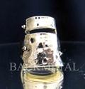Picture of 21 x ARTWORK BRONZE RINGS NED KELLY AUSTRALIAN BANDIT MASK HERO WHOLESALE-LOT