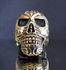 Picture of 21 x BRONZE BIKER RINGS HELLRAISER SKULL STREETFIGHTER WHOLESALE-LOT