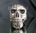 Picture of 21 x STERLING SILVER BIKER RINGS HELLRAISER SKULL STREETFIGHTER WHOLESALE-LOT