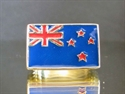 Picture of 21 x BRONZE RINGS NEW ZEALAND KIWI FLAG DARK BLUE AND RED UNION JACK WHOLESALE-LOT