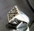 Picture of 21 x STERLING SILVER MEDIEVAL RINGS FLEUR DE LIS LILY FRECH REVOLUTION DIAMOND SHAPE WHOLESALE-LOT