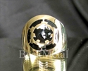 Picture of 21 x BRONZE RINGS STAR WARS IMPERIAL COAT OF ARMS BLACK DEATH STAR 2 WHOLESALE-LOT
