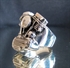 Picture of 21 x STERLING SILVER BIKER RINGS PANHEAD ENGINE HARLEY DAVIDSON TWIN HEAD MC WHOLESALE-LOT