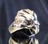 Picture of 21 x ARTWORK BRONZE MEN'S RINGS THE HAWK HEAD ANTIQUED WHOLESALE-LOT