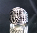 Picture of 21 x STERLING SILVER TRIBUTE RINGS FOR PINK FLOYD THE WALL ANTIQUED WHOLESALE-LOT