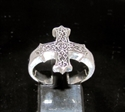 Picture of 21 x STERLING SILVER CROSS RINGS WITH CELTIC KNOTS WHOLESALE-LOT