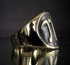 Picture of 21 x BRONZE MATH TEACHER RINGS WITH NUMBER PI GREEK LETTER WHOLESALE-LOT