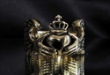 Picture of 21 x BRONZE CLADDAGH RINGS IRISH HEART WITH WINGED HANDS WHOLESALE-LOT
