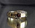 Picture of 21 x ELEGANT BRONZE RINGS WITH 17 SPARKLING CZ WHOLESALE-LOT