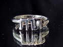 Picture of 21 x SMALL STERLING SILVER RINGS YHWH YAHWEH IN HEBREW GOD OF ISRAEL WHOLESALE-LOT