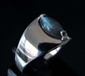 Picture of 21 x STERLING SILVER GEMSTONE RINGS WITH BLUE FIRE LABRADORITE MARQUISE CABOCHON WHOLESALE-LOT