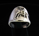 Picture of 21 x STERLING SILVER EL TORO RINGS WITH A WILD BULL WHOLESALE-LOT
