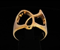 Picture of 21 x GREEK LETTER BRONZE RINGS INITIAL GAMMA SYMBOL WHOLESALE-LOT