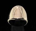 Picture of 21 x DAEDRIC ALPHABET LETTER BRONZE RINGS INITIAL CESS SYMBOL WHOLESALE-LOT