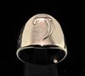 Picture of 21 x DAEDRIC ALPHABET LETTER BRONZE RINGS INITIAL GETH SYMBOL WHOLESALE-LOT