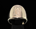 Picture of 21 x DAEDRIC ALPHABET LETTER BRONZE RINGS INITIAL JEB SYMBOL WHOLESALE-LOT