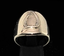 Picture of 21 x DAEDRIC ALPHABET LETTER BRONZE RINGS INITIAL XAYAH SYMBOL WHOLESALE-LOT