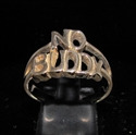 "Picture of 21 x BRONZE RINGS "" NO BUDDY "" BOLD LETTERS ONE WORD WHOLESALE-LOT"