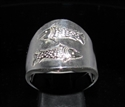 Picture of 21 x STERLING SILVER ZODIAC MEN'S RINGS STAR SIGN PISCES HIGH POLISHED WHOLESALE-LOT