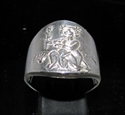 Picture of 21 x STERLING SILVER ZODIAC MEN'S RINGS STAR SIGN VIRGO HIGH POLISHED WHOLESALE-LOT