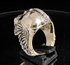 Picture of 21 x BRONZE MEN'S BIKER RINGS SKULL WARRIOR WINGS OF FREEDOM ANTIQUED WHOLESALE-LOT
