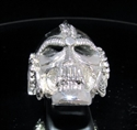 Picture of 21 x STERLING SILVER MEN'S BIKER RINGS SKULL WARRIOR WINGS OF FREEDOM WHOLESALE-LOT