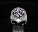 Picture of 21 x STERLING SILVER MEN'S SIGNET RINGS IK BEN VLAMING FLEMISH LION COAT OF ARMS WHOLESALE-LOT