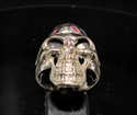 Picture of 21 x BRONZE MEN'S UK BIKER RINGS SKULL WITH UNION JACK BANDANA WHOLESALE-LOT