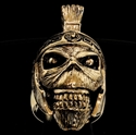 Picture of 21 x BRONZE MEN'S MUMMY RINGS EDDIE THE HEAD IRON MAIDEN MASCOT ROMAN TROOPER WHOLESALE-LOT