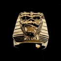Picture of 21 x BRONZE MEN'S SPHINX RINGS EDDIE THE HEAD IRON MAIDEN MASCOT PHARAOH MUMMY WHOLESALE-LOT